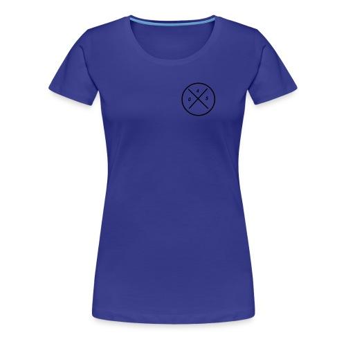 045 logo - Vrouwen Premium T-shirt