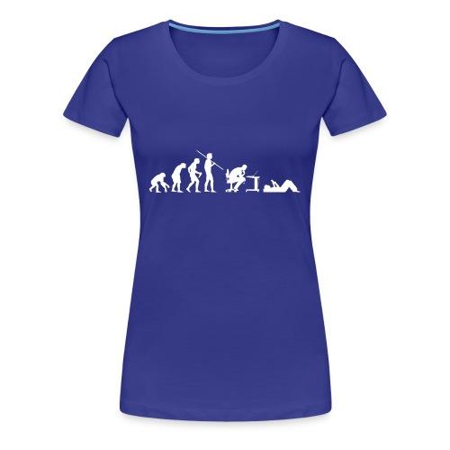 Evolution of Geeks - Women's Premium T-Shirt