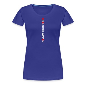 edelschlappen weiß - Frauen Premium T-Shirt