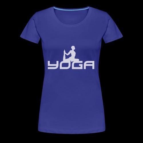 Yoga - Frauen Premium T-Shirt