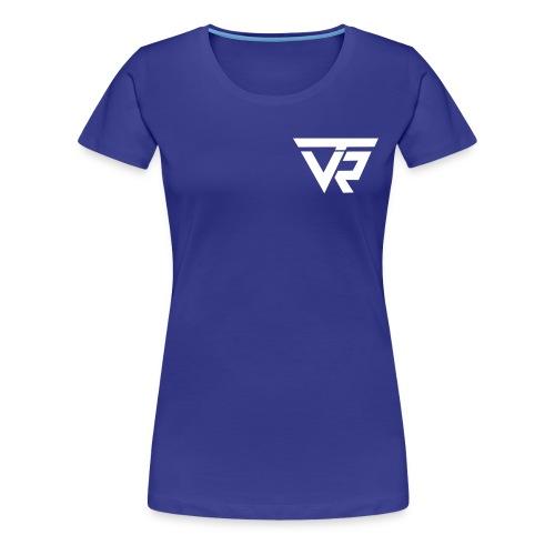 TVR Logo weiss - Frauen Premium T-Shirt