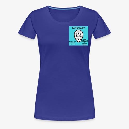 LAP - Premium T-skjorte for kvinner