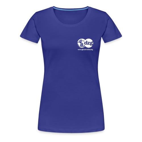Schrifttzug - Frauen Premium T-Shirt