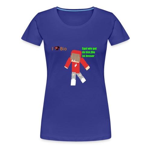 I <3 Bio - Frauen Premium T-Shirt
