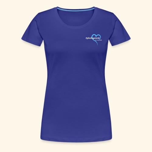 #pferdegerecht weiß Name - Frauen Premium T-Shirt