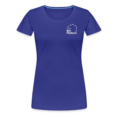 TBP logo white square - Women's Premium T-Shirt