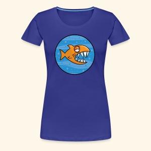 GO, PIRANHA! - Maglietta Premium da donna