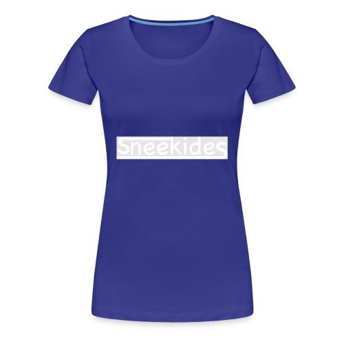 sneekides logo - Vrouwen Premium T-shirt