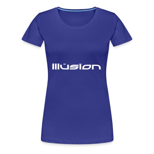 illusion ~ Name - Vrouwen Premium T-shirt