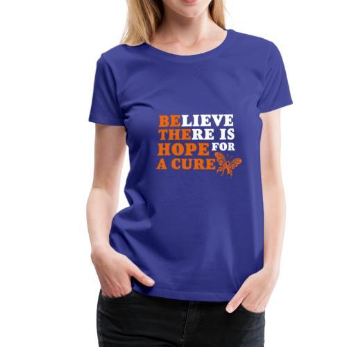 cure White - Frauen Premium T-Shirt