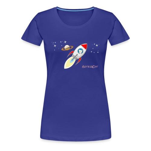 Astrocat - Frauen Premium T-Shirt