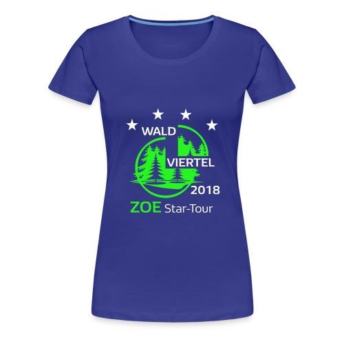 ZOE Treffen Waldviertel 2018 - Frauen Premium T-Shirt