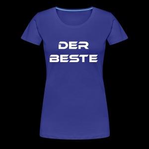 Der Beste weiss - Frauen Premium T-Shirt