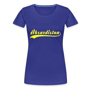 Absurdistan - Premium-T-shirt dam