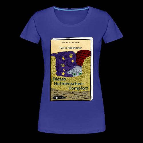 BuchCover Dieses Hutmenschenkomplott - Frauen Premium T-Shirt