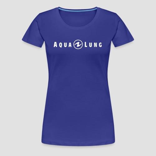 AQUA LUNG | LOGO | WOMEN | blau - Frauen Premium T-Shirt