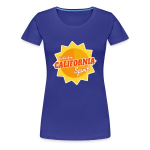 CALIFORNIA SPIRIT TRANSPARENT - T-shirt Premium Femme