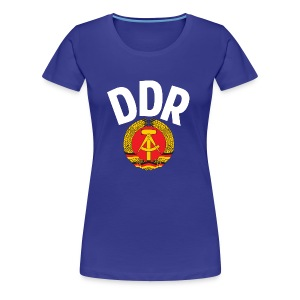 DDR - German Democratic Republic - Est Germany - Frauen Premium T-Shirt