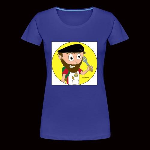 r svg - T-shirt Premium Femme