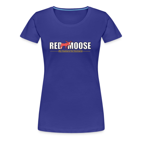 Red Moose logo - Premium-T-shirt dam
