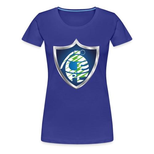 logo_grenade_vert - T-shirt Premium Femme