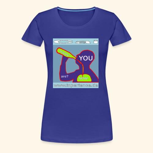 Cai 0001 Are you happy now? - Frauen Premium T-Shirt