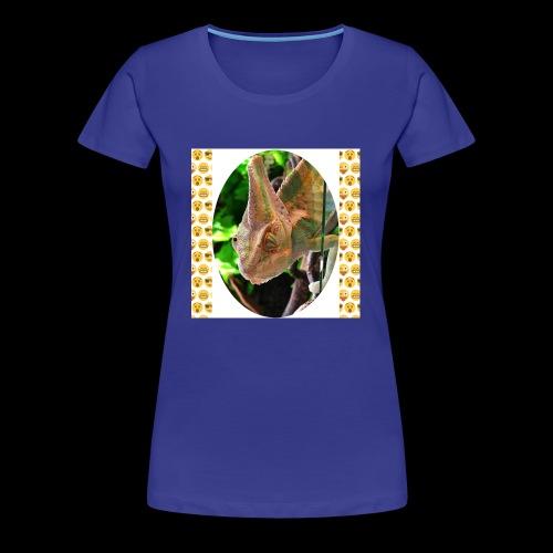 Pascal das Chamäleon - Frauen Premium T-Shirt
