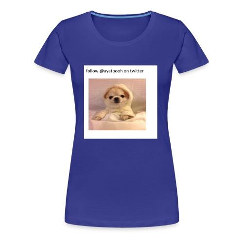 follow ayatooh - Women's Premium T-Shirt