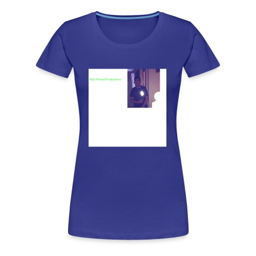 Abid Ahmed productions2 - Women's Premium T-Shirt