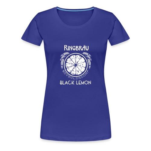 Ringbräu Black Lemon/DARK - Frauen Premium T-Shirt