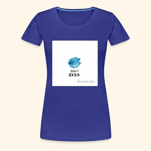 crush it - Vrouwen Premium T-shirt