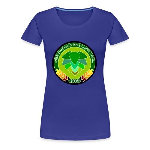 Ribe Omegns Bryggerlaug 2018 - Dame premium T-shirt
