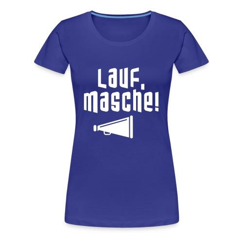 Laufmasche RZ - Frauen Premium T-Shirt