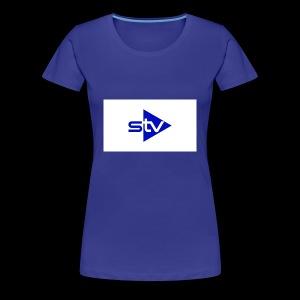 Skirä television - Premium-T-shirt dam