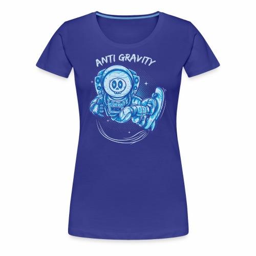 anti gravity space surfing - Frauen Premium T-Shirt