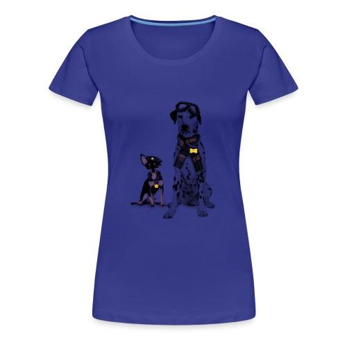 dogs - Women's Premium T-Shirt
