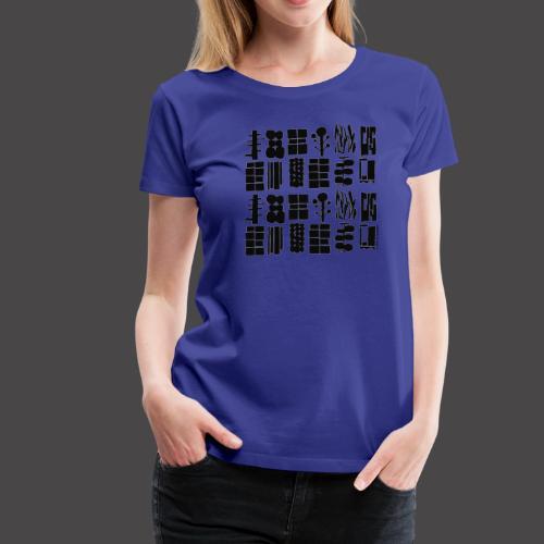 TAG AM MEER - Frauen Premium T-Shirt