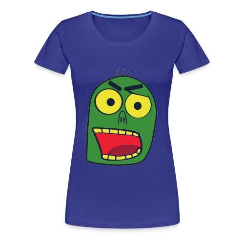 zombiekopf - Frauen Premium T-Shirt