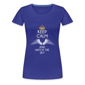 Keep Calm - Koszulka damska Premium