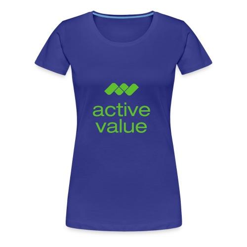 av logo - Frauen Premium T-Shirt