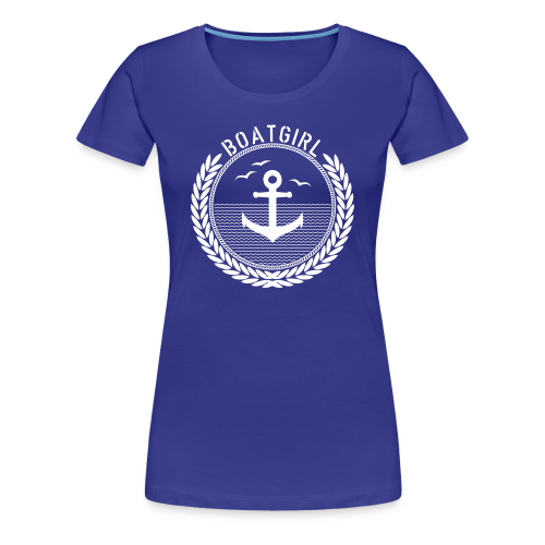 BoatGirl - Anchor - Frauen Premium T-Shirt
