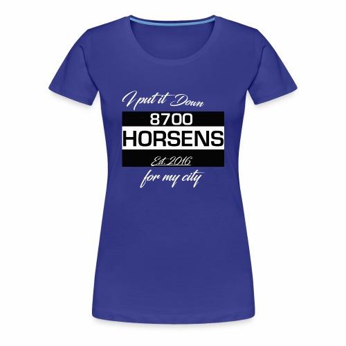 Tshirt 8700 Horsens Concept - 8700 - Dame premium T-shirt