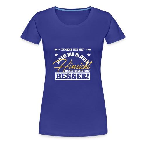 Heilcamp - so wird Krebs geheilt - Frauen Premium T-Shirt