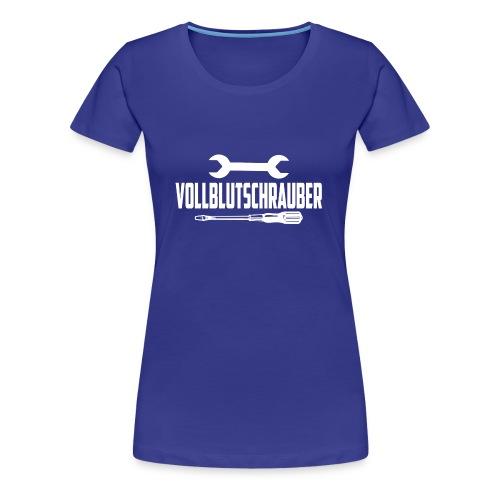 Vollblutschrauber - Frauen Premium T-Shirt