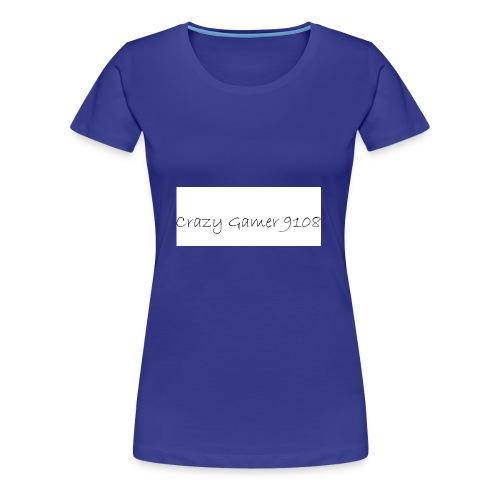 Crazy Gamer 9108 new merch - Women's Premium T-Shirt
