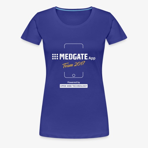 Medgate App Team 2017 Dark - Frauen Premium T-Shirt