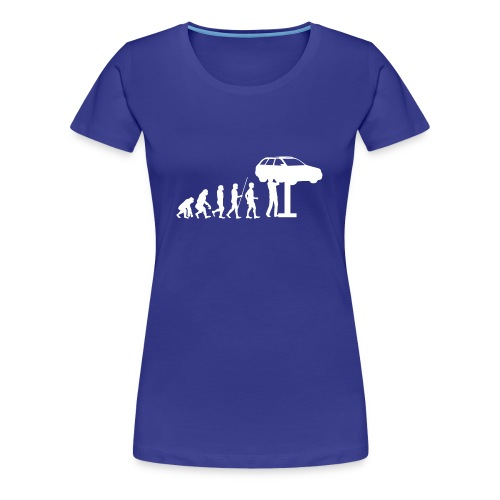 Evulotion Werkstatt - Frauen Premium T-Shirt