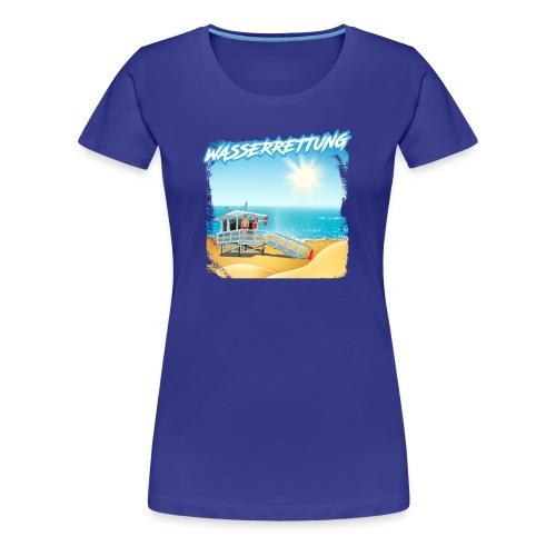 WASSERRETTUNG - Frauen Premium T-Shirt