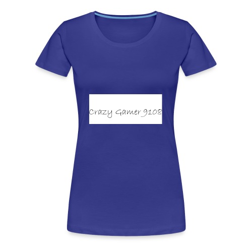 Crazy Gamer 9108 new merch - Women's Premium T-Shirt