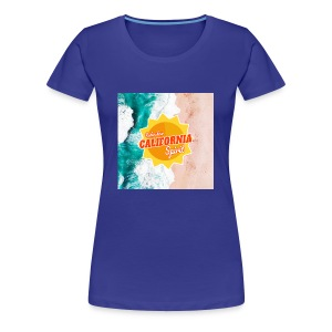 California Spirit Surfin - T-shirt Premium Femme